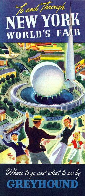 1939 worlds Fair pamphlet