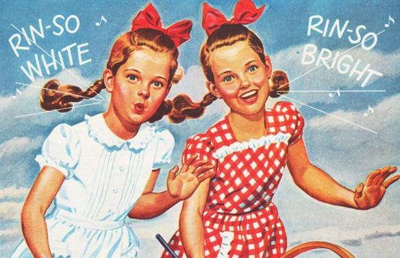 vintage ad  Rinso detergent